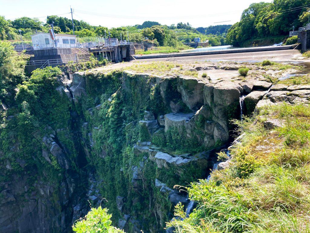 雄川の滝上流展望所