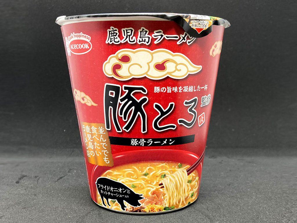豚とろラーメン カップ麺