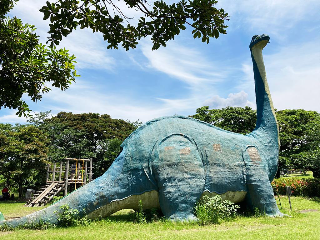 恐竜公園のブロントサウルス